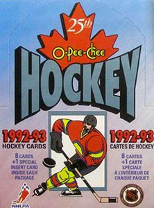 O-Pee-Chee NHL Hockey 1992-1993
