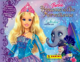 Panini Barbie Island Princess