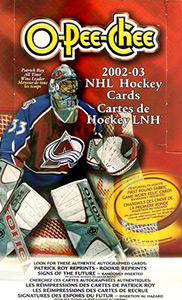 O-Pee-Chee NHL Hockey 2002-2003