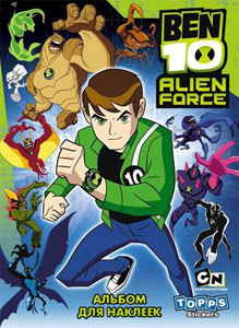 Topps Ben 10. Alien Force