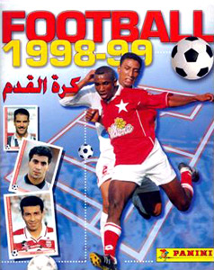 Panini Tunisian Football 1998-1999