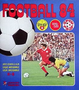Panini Football Switzerland 1983-1984