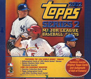 Topps Major League Baseball 2002
