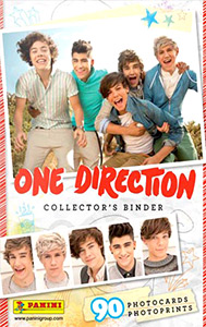 Panini One Direction Photocards