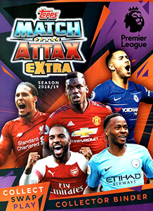 Topps English Premier League 2018-2019. Match Attax Extra