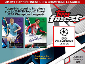 Topps UEFA Champions League Finest 2018-2019