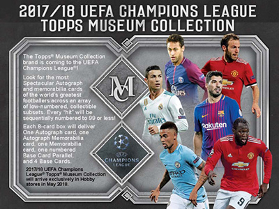 Topps UEFA Champions League Museum Collection 2017-2018