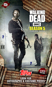 Topps The Walking Dead Season 5