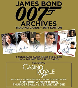 Rittenhouse Archives ltd James Bond 007. Archives 2014