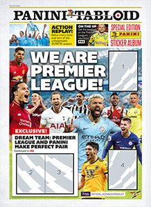 Panini Tabloid Premier League