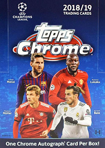 Topps UEFA Champions League Chrome 2018-2019