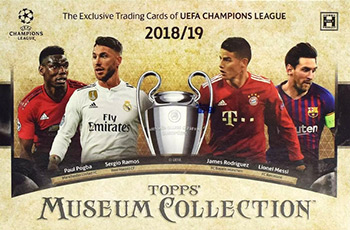 Topps UEFA Champions League Museum Collection 2018-2019