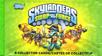 Topps Skylanders Swap Force Cards