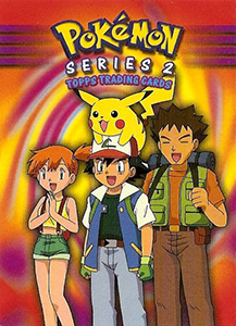 Topps Pokemon Trading Cards Series 2
