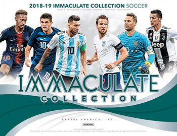 Panini Immaculate Soccer 2018-2019