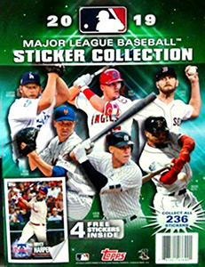 Topps MLB Sticker Collection 2019