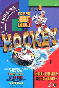 Topps Stadium Club Hockey 1994-1995
