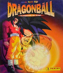 Panini DragonBall. The Legend of the Dragon