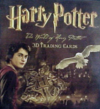 Artbox The World of Harry Potter. 3D Trading Cards. Part 1