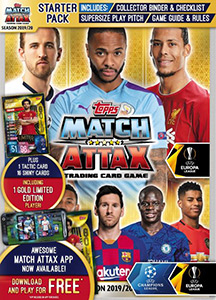Topps UEFA Champions League 2019-2020. Match Attax. UK Edition