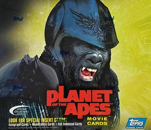 Topps Planet of the Apes