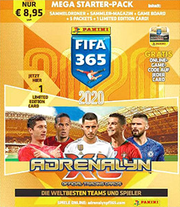 Panini FIFA 365: 2019-2020. Adrenalyn XL