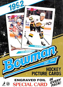 Bowman Hockey 1992-1993