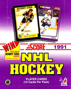 Score NHL Hockey 1991-1992 American Edition