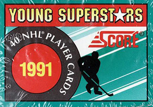 Score NHL 1991-1992 Young Superstars