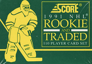 Score NHL 1991-1992 Rookie and Traded