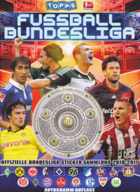 Topps German Football Bundesliga 2010-2011
