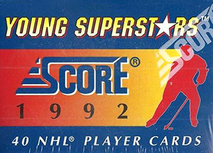 Score NHL 1992-1993 Young Superstars