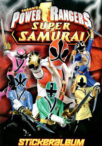 Blue Ocean Power Rangers: Super Samurai