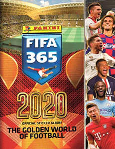 Panini FIFA 365 2020. 448 stickers version
