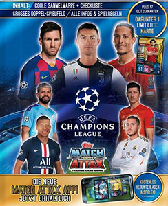 Topps UEFA Champions League 2019-2020. Match Attax. Germany