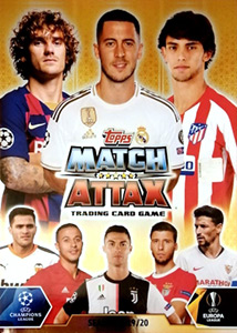 Topps UEFA Champions League 2019-2020. Match Attax. Spain/Portugal