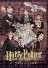 Artbox The World of Harry Potter. 3D Trading Cards. Part 2