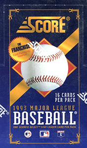 Score Major League Baseball 1993