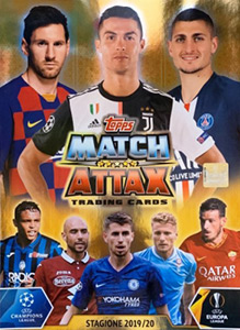 Topps UEFA Champions League 2019-2020. Match Attax. Italy