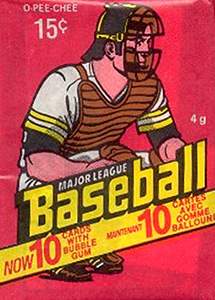 O-Pee-Chee Major League Baseball 1978