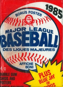 O-Pee-Chee Major League Baseball 1985