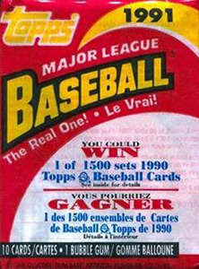 O-Pee-Chee Major League Baseball 1991