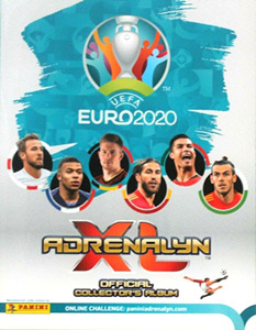 Panini UEFA Euro 2020 Preview. Adrenalyn XL