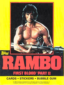 Topps Rambo First Blood: Part II