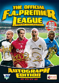 Merlin English Premier League 2001-2002