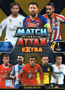 Topps UEFA Champions League 2019-2020. Match Attax Extra. Spain/Portugal