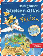 Blue Ocean Sticker-Atlas von Felix