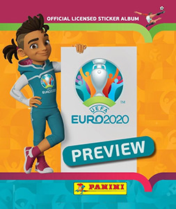 Panini UEFA Euro 2020 Preview. 528 stickers version