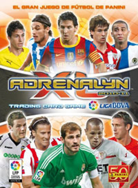 Panini Liga BBVA 2010-2011. Adrenalyn XL