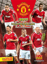 Manchester United 2010-2011. Adrenalyn XL